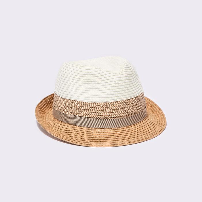 Chapeau trilby sable homme