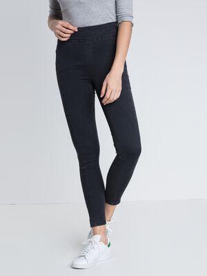 jeans skinny femme taille haute origami denim gris