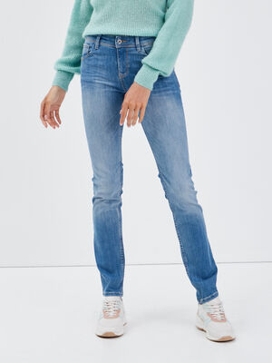 Jeans Grace  slim push up denim used femme