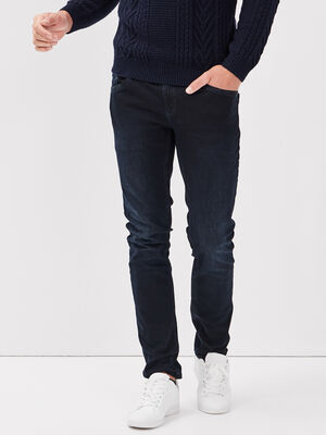 Hyper Stretch jeans slim denim blue black homme