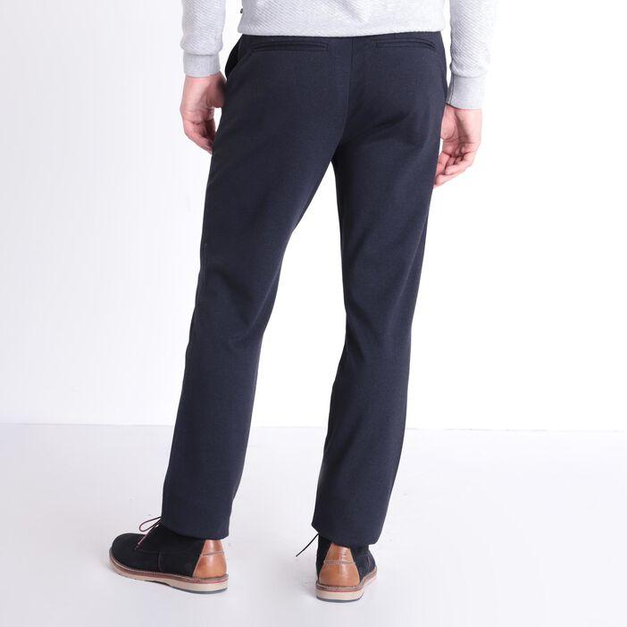Pantalon straight 4 poches bleu foncé homme