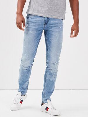 Jeans skinny eco responsable denim stone homme