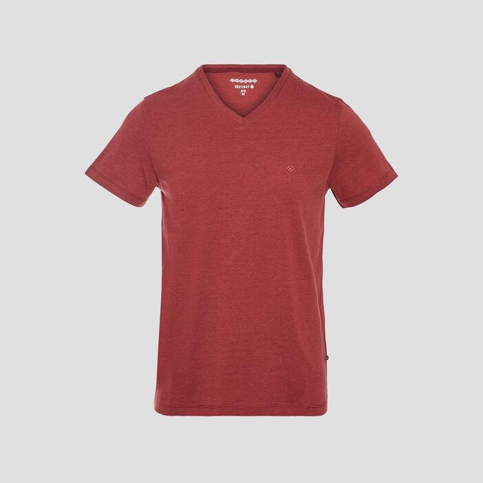 T-shirt manches courtes vieux rose homme