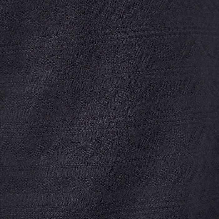 Polo manches courtes bleu foncé homme