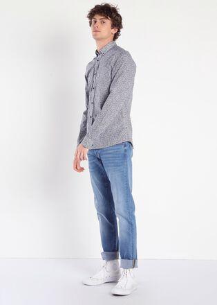 Jeans slim effet used Instinct denim used homme