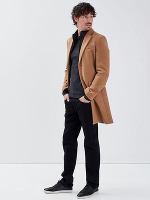 Jeans eco responsable regular denim noir homme