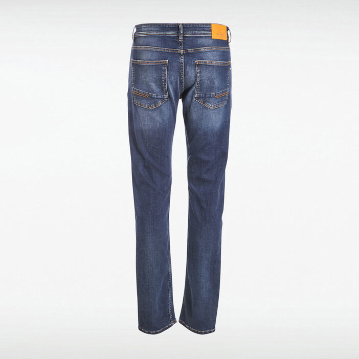 Jeans éco-responsable regular denim stone homme