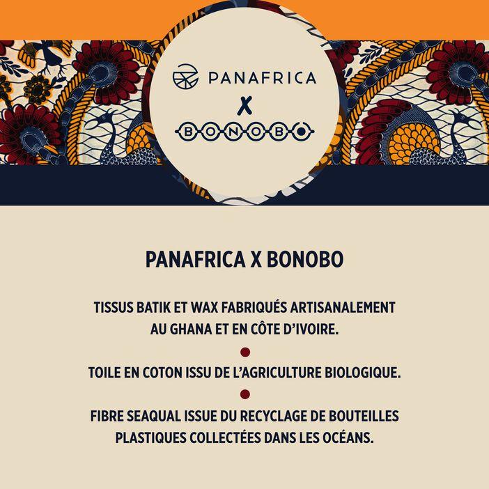 Baskets Panafrica x Bonobo orange foncé homme