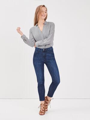 Jeans eco responsable denim brut femme