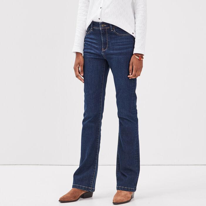 Jeans Yoko - bootcut denim brut femme