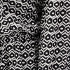 Robe evasee ceinturee noir femme