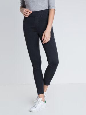 Jeans skinny taille haute ORIGAMI denim gris femme
