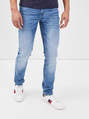 Jeans slim eco responsable denim used homme