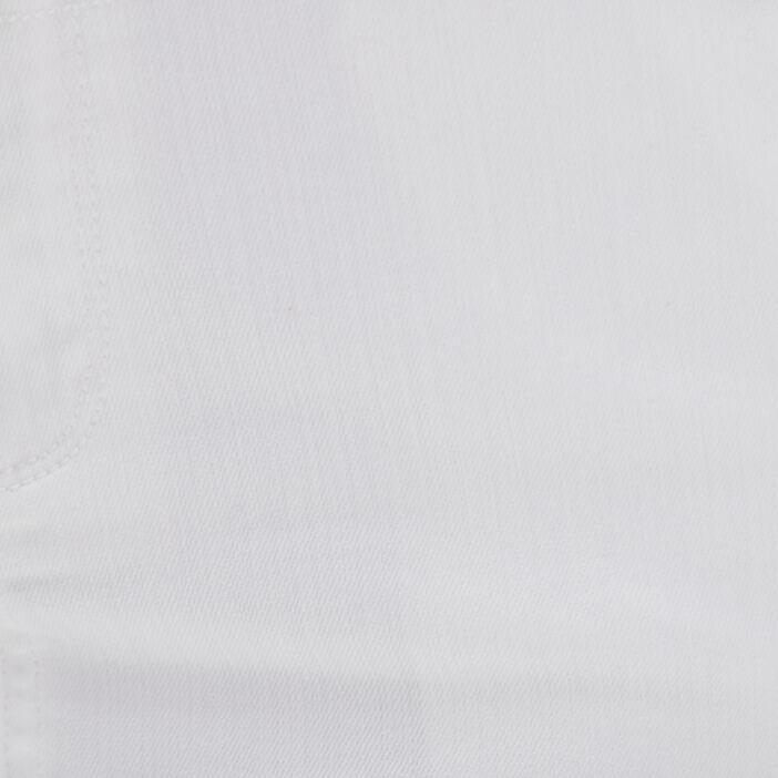 Jupe ajustée à pont blanc femme