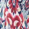 Blouse manches courtes multicolore femme