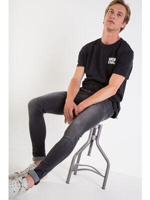 Jeans skinny Instinct denim noir homme