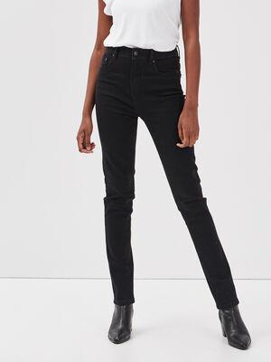 Jeans Ines  slim denim noir femme