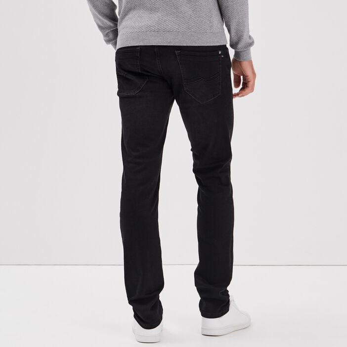 Hyper Stretch jeans slim denim noir homme