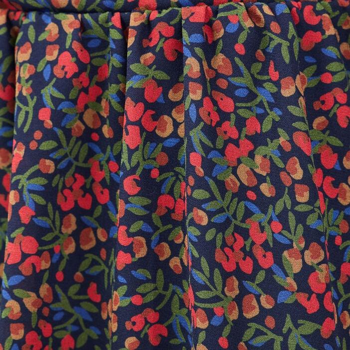 Jupe évasée multicolore femme