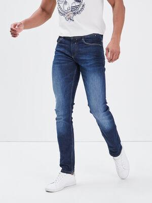 Jeans slim eco responsable denim brut homme