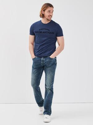 Jeans regular detail poche denim dirty homme