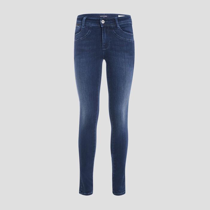 Jeans skinny taille standard denim dirty femme