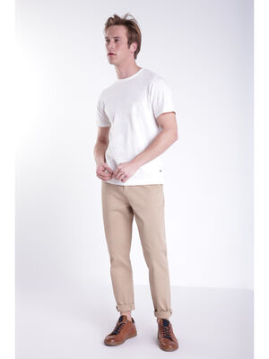 Pantalon chino Instinct beige homme