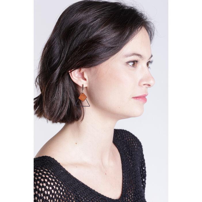 Boucles d'oreilles couleur or femme