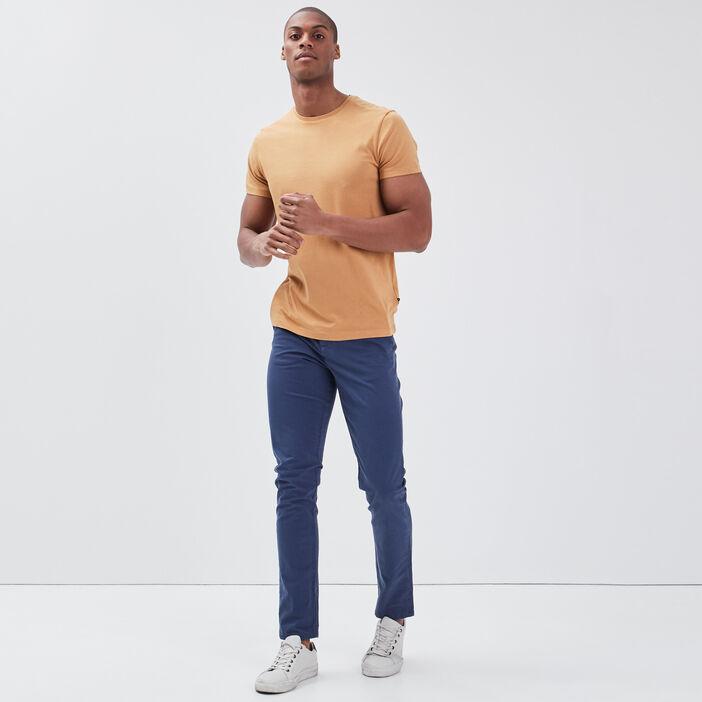 Pantalon éco-responsable bleu foncé homme