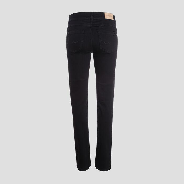 Jeans Fanny - regular denim noir femme