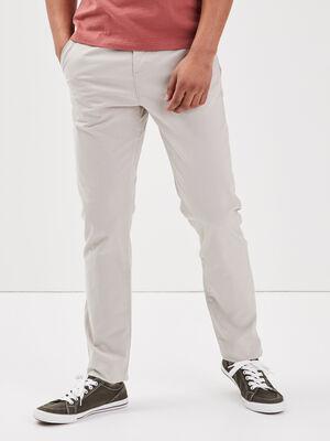 Pantalon Instinct chino gris clair homme