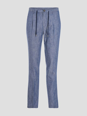 Pantalon chino denim stone homme