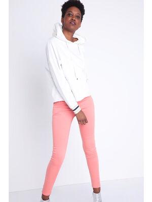 Pantalon Instinct skinny rose clair femme