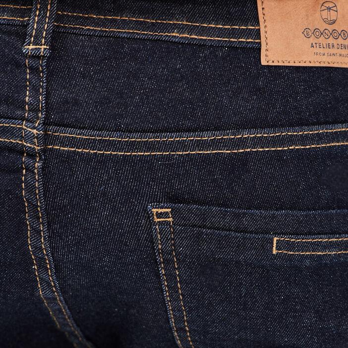 Jeans slim effet used Instinct bleu homme