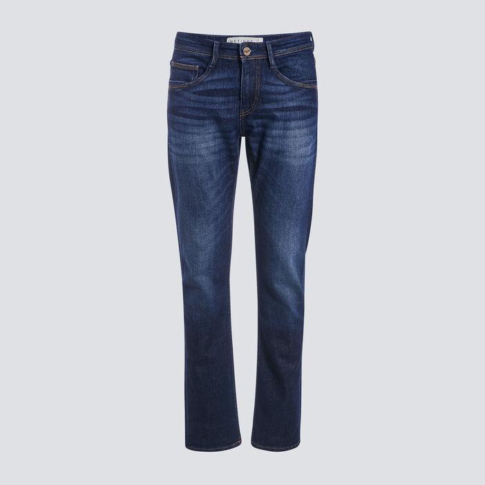 Jeans recyclé denim brut homme