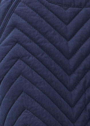 Doudoune Instinct droite bleu marine femme