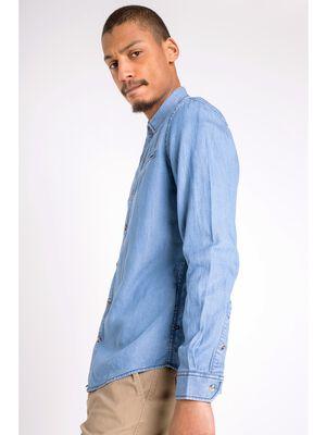 chemise en jean homme instinct denim stone