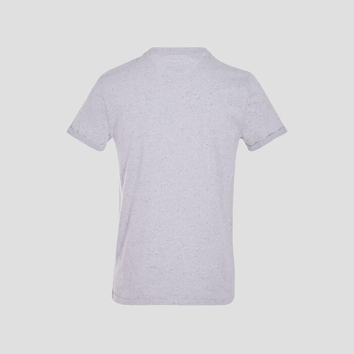 T-shirt éco-responsable blanc homme