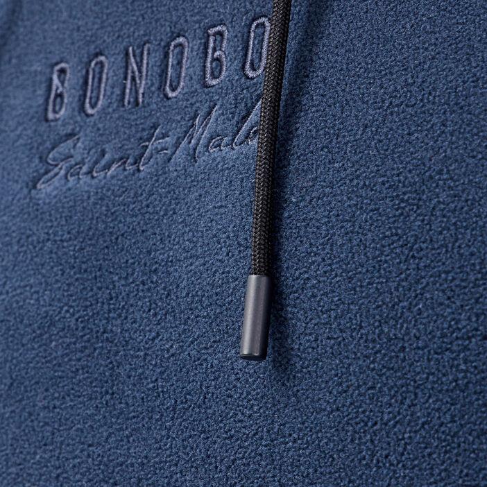 Sweat manches longues bleu marine homme