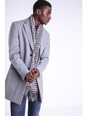 Manteau long par dessus Instinct gris homme