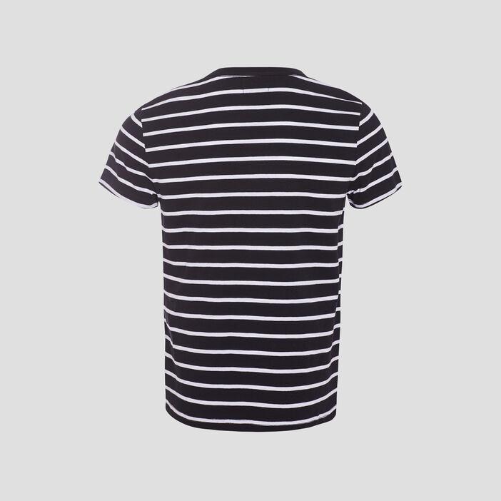 T-shirt éco-responsable noir homme