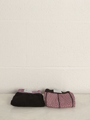 Lot 2 boxers rouge homme