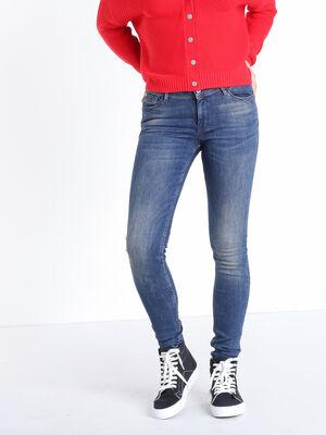 Jeans skinny push up denim dirty femme