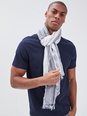 Foulard bleu clair homme