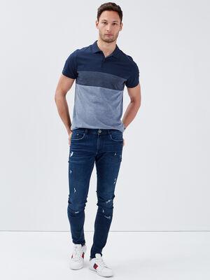 Jeans skinny eco responsable denim brut homme
