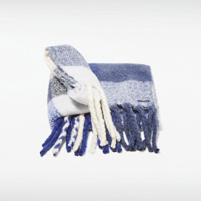 Écharpe bleu foncé femme