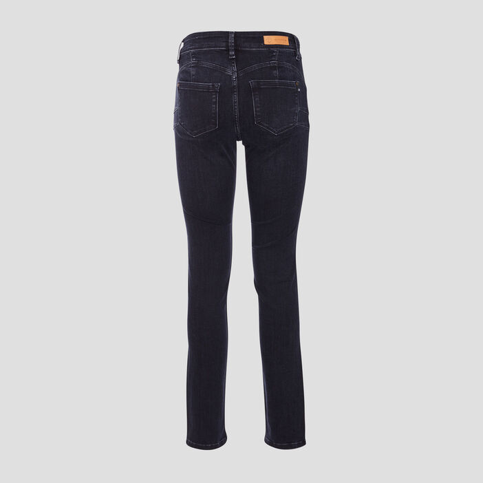 Jeans Grace - slim push up denim blue black femme