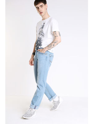 Jeans regular Instinct denim bleach homme
