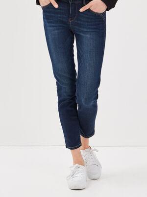 Jeans slim taille basse 78eme denim brut femme