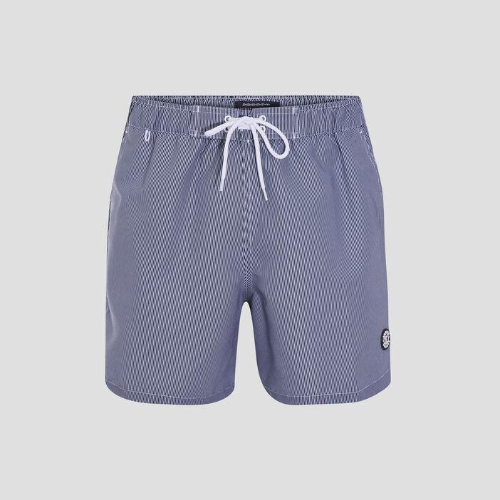Short de bain bleu marine homme